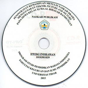 Contoh cover label cd